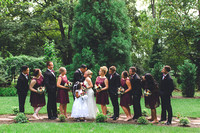 Bridal Party + Family